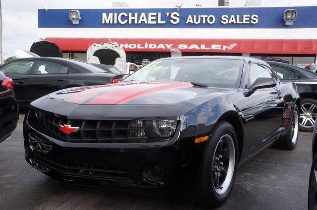 2011 CHEVROLET CAMARO 1LS black clean carfax 99 point safety inspection automatic
