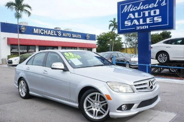 2008 MERCEDES-BENZ C-CLASS C350 SPORT 4DR SEDAN unspecified heated front bucket seatsmb tex uphol