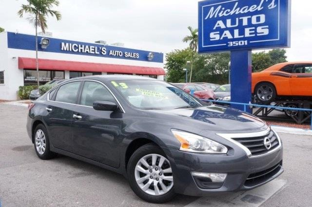2014 NISSAN ALTIMA 25 S 4DR SEDAN gun metallic drive this home today isnt it time for a nissan