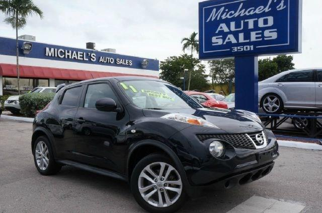 2011 NISSAN JUKE SV AWD 4DR CROSSOVER graphite blue awd clean carfax 99 point safety ins