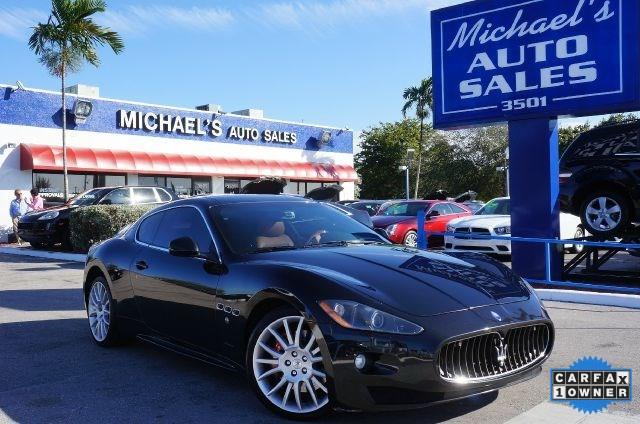 2010 MASERATI GRANTURISMO S AUTOMATIC 2DR COUPE black if youve been longing for the perfect 2010