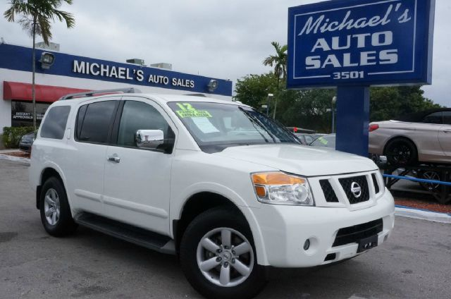 2012 NISSAN ARMADA SV 4X4 4DR SUV blizzard 4wd clean carfax 4x4 99 point safety ins