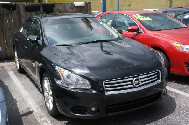 2012 NISSAN MAXIMA 35 SV super black leather seat trimradio amfm in-dash 6-cd wbose audio sys