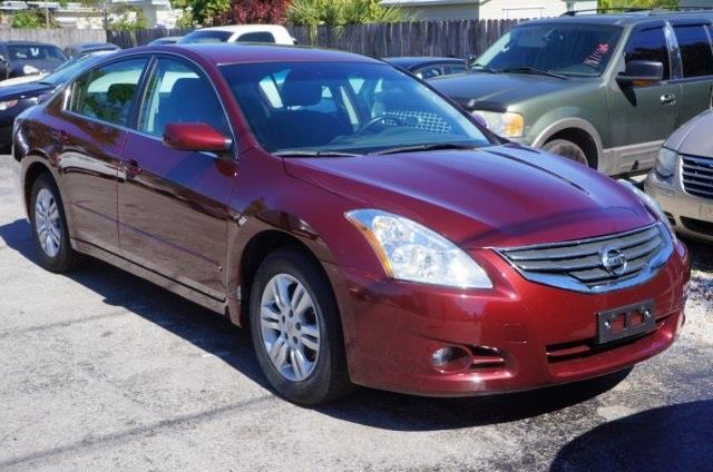 2012 NISSAN ALTIMA 25 S 4DR SEDAN tuscan cvt with xtronic are you ready for a nissan what a pr