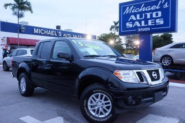 2015 NISSAN FRONTIER black crew cab here it is nissan has outdone itself with this handsome-lo