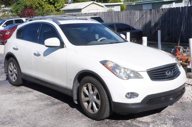 2008 INFINITI EX35 JOURNEY WAGON CROSSOVER black obsidian wow where do i start attention c
