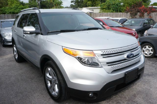 2014 FORD EXPLORER LIMITED 4X2 4DR SUV ingot silver metallic 339 axle ratio20 painted aluminum