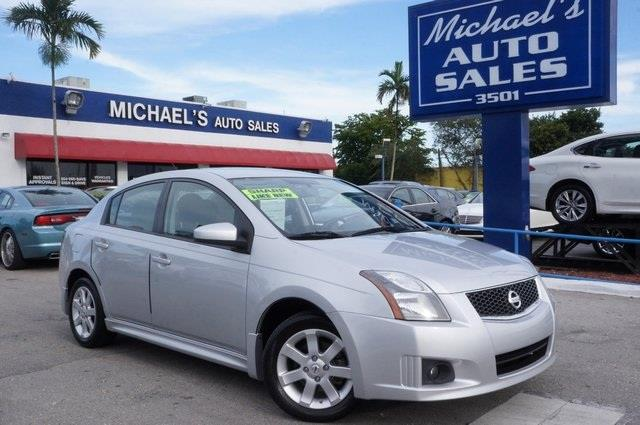 2012 NISSAN SENTRA 20 brilliant silver call us now at michaels auto sales youre 1 if you