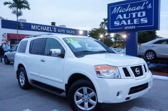 2012 NISSAN ARMADA SV 4X4 4DR SUV blizzard 4x4 drive this home today if youve been hunting fo