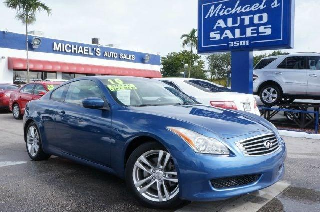 2010 INFINITI G37 COUPE athens blue 99 point safety inspection clean carfax and auto