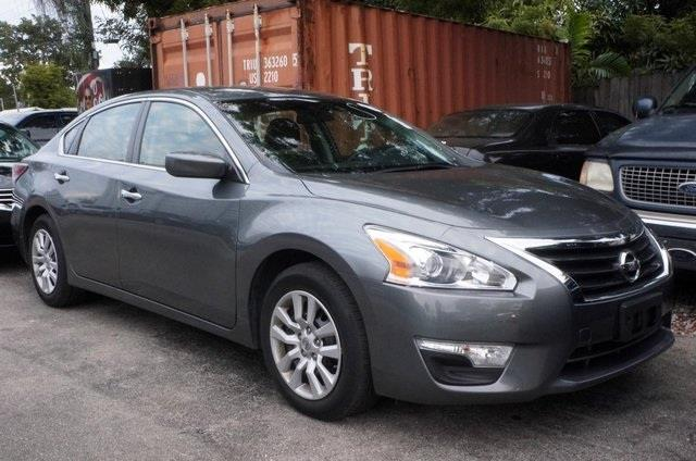 2013 NISSAN ALTIMA 25 S 4DR SEDAN brilliant silver metallic right car right price michaels aut