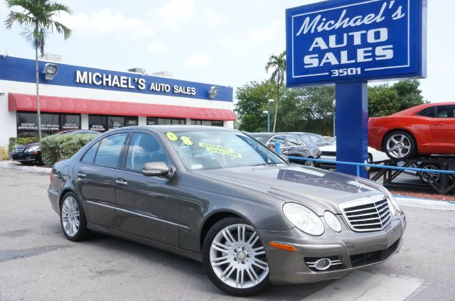 2008 MERCEDES-BENZ E-CLASS E550 4DR SEDAN flint gray metallic 55l v8 32v dohc clean carfax