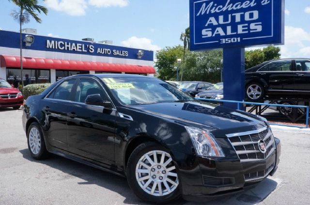 2011 CADILLAC CTS 30L LUXURY 4DR SEDAN black raven you need to see this car the michaels auto s