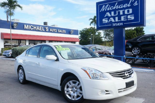 2012 NISSAN ALTIMA 25 S 4DR SEDAN winter frost pearl 99 point safety inspection automatic