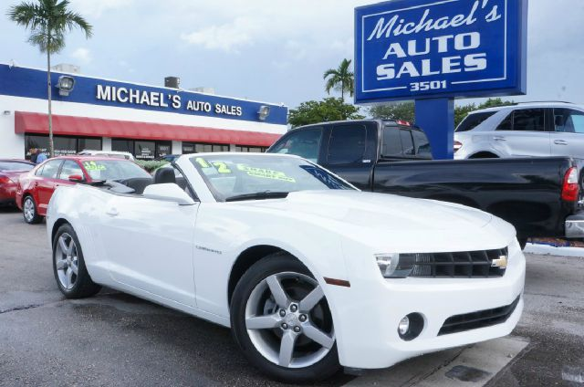2012 CHEVROLET CAMARO LT 2DR CONVERTIBLE W2LT summit white 99 point safety inspection cle