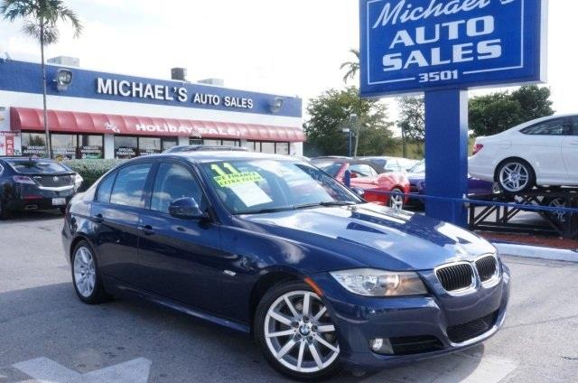 2011 BMW 3 SERIES 328I 4DR SEDAN SA blue dont let the miles fool you talk about a deal how te
