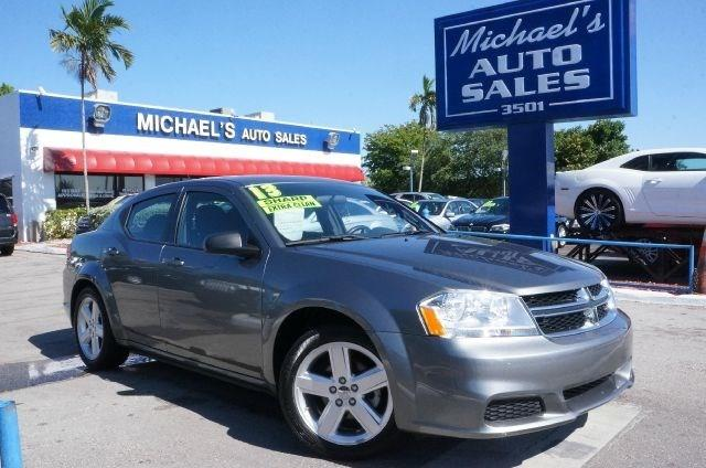 2012 DODGE AVENGER SE 4DR SEDAN tungsten metallic clearcoat clean carfax 99 point safety