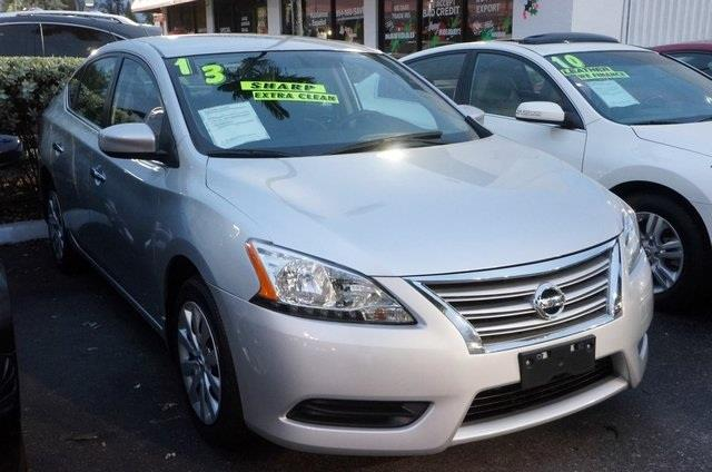 2013 NISSAN SENTRA SV 4DR SEDAN brilliant silver cvt xtronic why pay more for less ready to rol