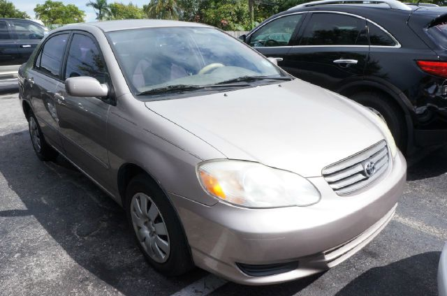 2003 TOYOTA COROLLA CE 4DR SEDAN unspecified cloth seat trim15 steel wheels wfull wheel covers