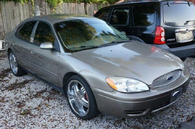 2007 FORD TAURUS SEL FLEET 4DR SEDAN unspecified 99 point safety inspection local trade