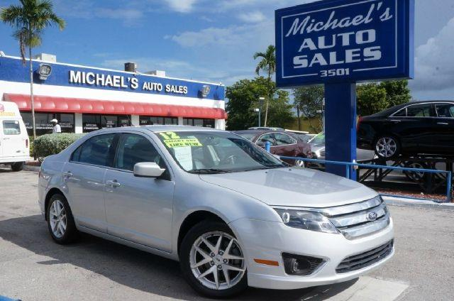 2012 FORD FUSION SEL 4DR SEDAN ingot silver metallic 99 point safety inspection automatic