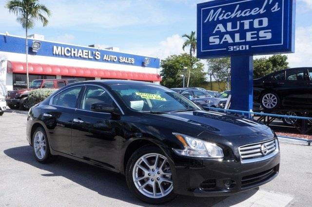 2011 NISSAN MAXIMA 35 S 4DR SEDAN super black stop read this theres no substitute for a nissan