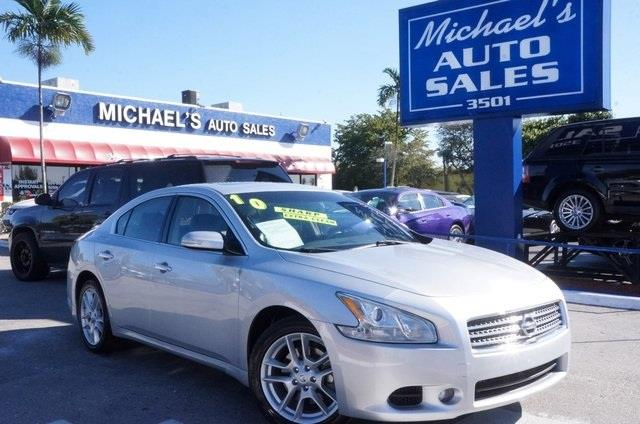 2010 NISSAN MAXIMA 35 S 4DR SEDAN unspecified 99 point safety inspection clean carfax
