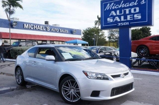 2012 SCION TC classic silver metallic silver bullet in a class by itself want to stretch your