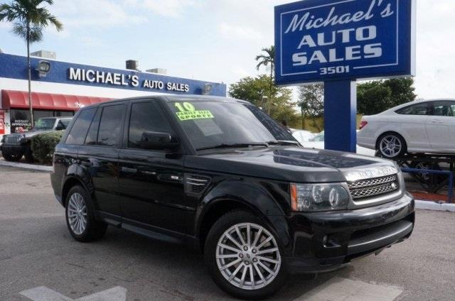 2010 LAND ROVER RANGE ROVER SPORT HSE 4X4 4DR SUV alaska white 99 point safety inspection