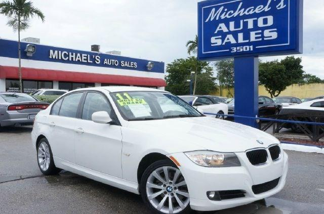 2011 BMW 3 SERIES 328I 4DR SEDAN SA alpine white 99 point safety inspection clean carfax