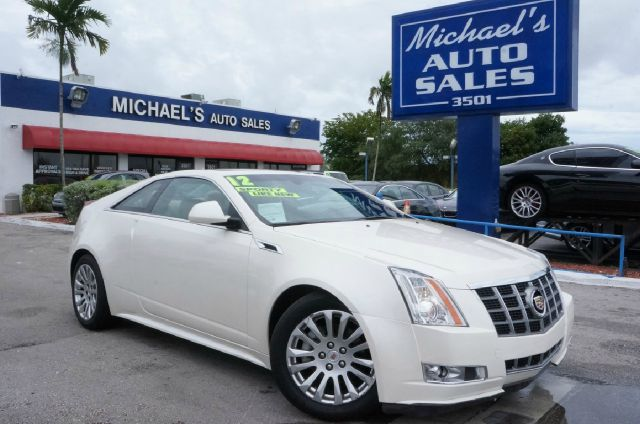 2012 CADILLAC CTS 36L PERFORMANCE 2DR COUPE white diamond tricoat clean carfax 99 point