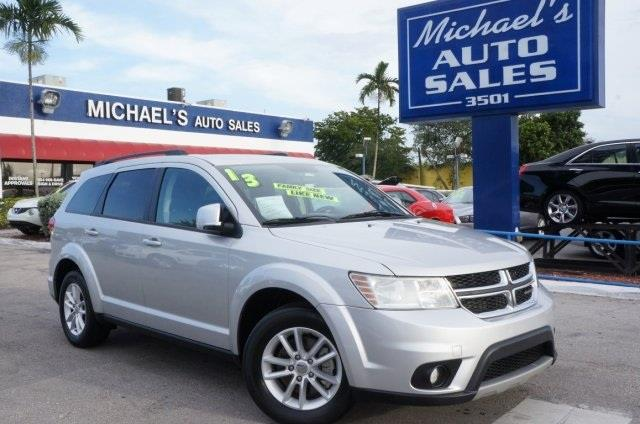 2013 DODGE JOURNEY SXT AWD 4DR SUV bright silver metallic clearco awd real winner switch to mich