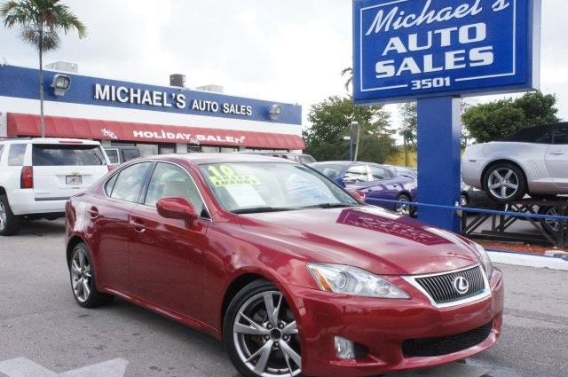 2010 LEXUS IS 250 250 unspecified abs brakes alloy wheels compass electronic stability control