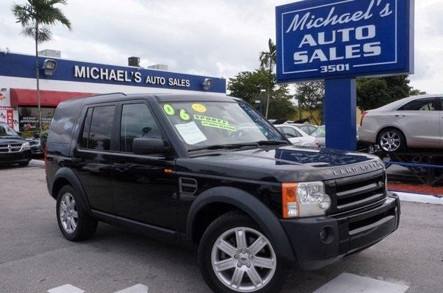 2006 LAND ROVER LR3 SE 4DR SUV 4WD java black 99 point safety inspection leather autom