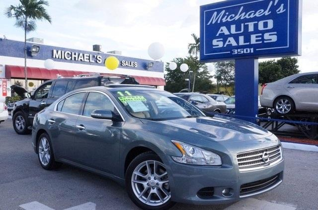 2011 NISSAN MAXIMA 35 S 4DR SEDAN mystic jade metallic wheels of fortune this will catch you on