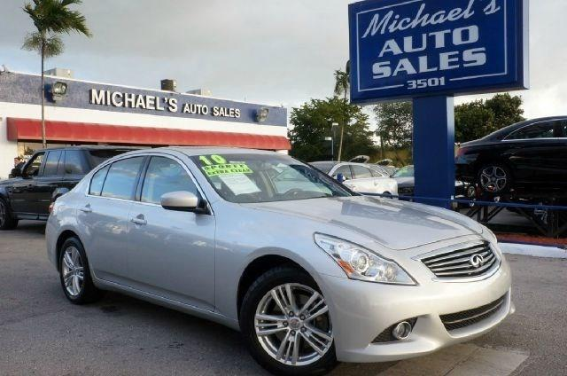 2010 INFINITI G37 SEDAN X unspecified 99 point safety inspection clean carfax leathe