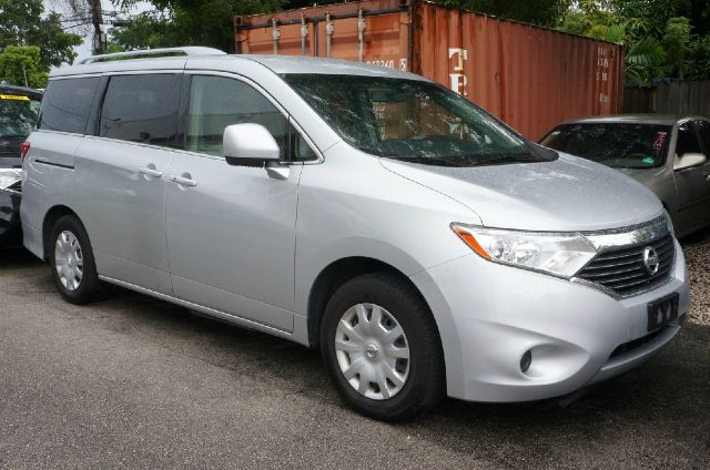 2012 NISSAN QUEST 35 S 4DR MINI VAN brilliant silver clean carfax 99 point safety inspec