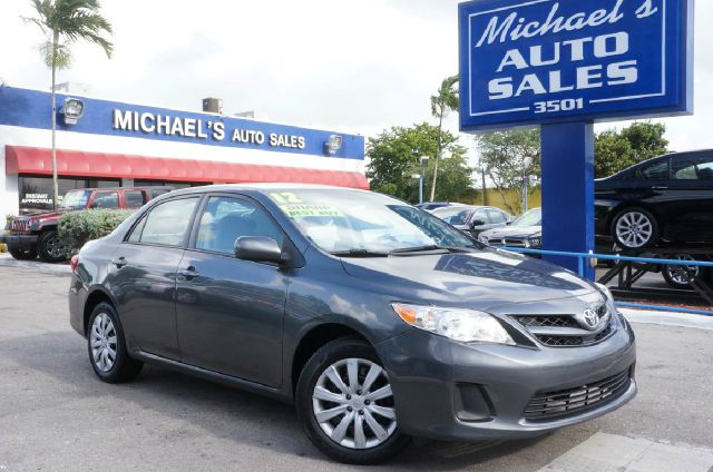 2012 TOYOTA COROLLA LE 4DR SEDAN 4A magnetic gray metallic clean carfax 99 point safety i