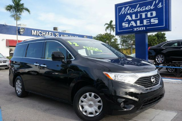 2012 NISSAN QUEST 35 S 4DR MINI VAN super black 99 point safety inspection automatic an