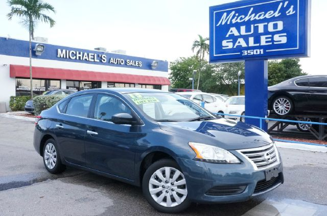 2013 NISSAN SENTRA SV graphite blue automatic clean carfax 99 point safety inspection