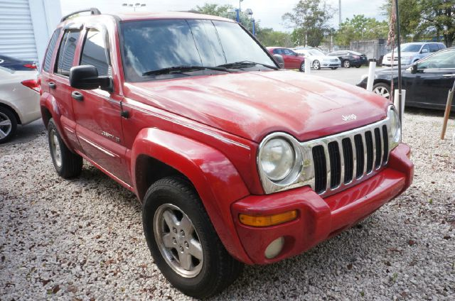 2002 JEEP LIBERTY LIMITED 4DR 4WD SUV unspecified 373 axle ratiocloth low-back bucket seatsamf