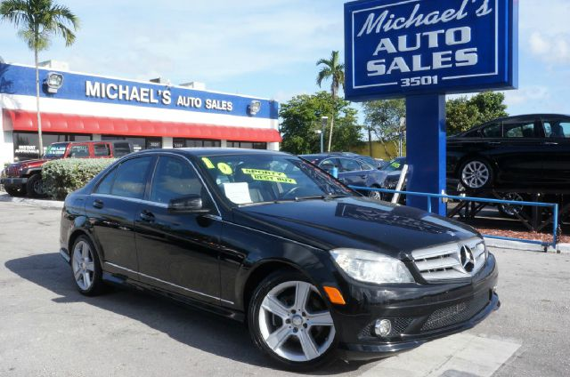 2011 MERCEDES-BENZ C-CLASS C300 black 99 point safety inspection clean carfax leathe