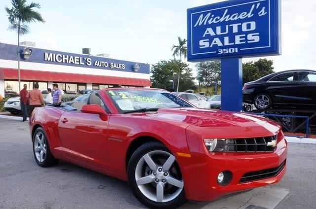 2012 CHEVROLET CAMARO LT 2DR CONVERTIBLE W2LT red talk about a deal switch to michaels auto sal