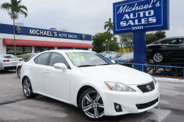 2011 LEXUS IS 250 250 glacier frost nice car hurry in if you travel a lot youre going to lov