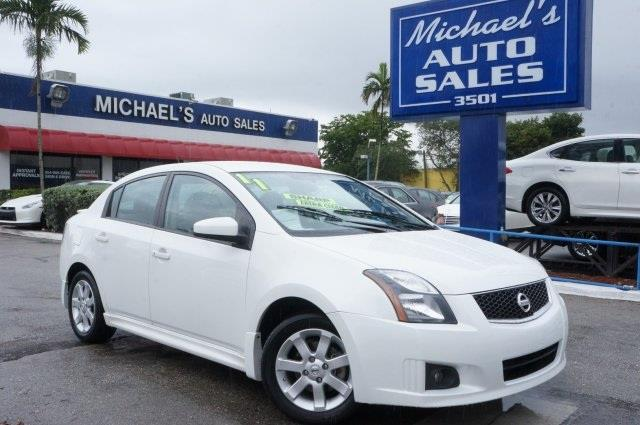 2012 NISSAN SENTRA 20 SR 4DR SEDAN aspen white stop read this theres no substitute for a nissa