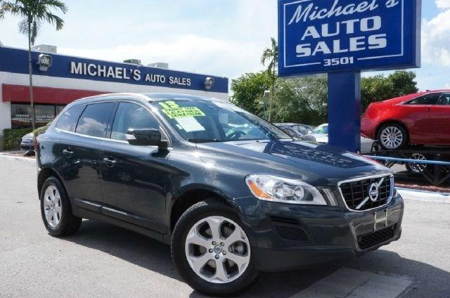 2013 VOLVO XC60 32 4DR SUV black stone clean carfax 99 point safety inspection and