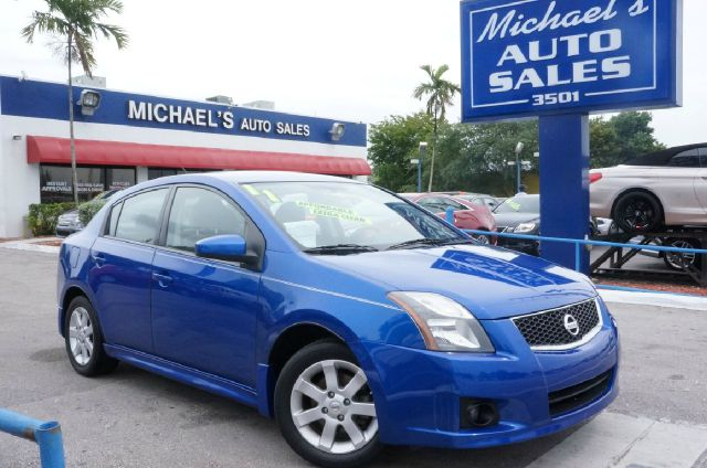 2011 NISSAN SENTRA 20 SR metallic blue automatic clean carfax 99 point safety inspectio
