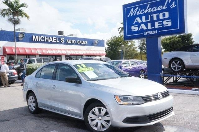 2012 VOLKSWAGEN JETTA S reflex silver metallic youll never pay too much at michaels auto sales
