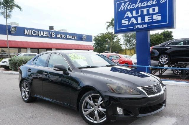 2009 LEXUS IS 250 BASE 4DR SEDAN 6M unspecified 99 point safety inspection automatic c