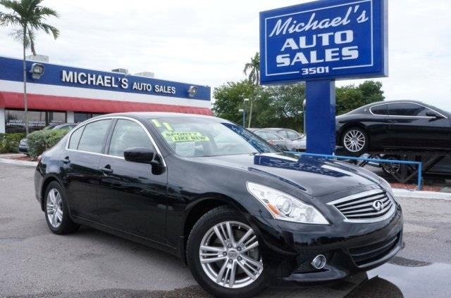 2011 INFINITI G25 SEDAN black obsidian welcome to michaels auto sales you need to see this car